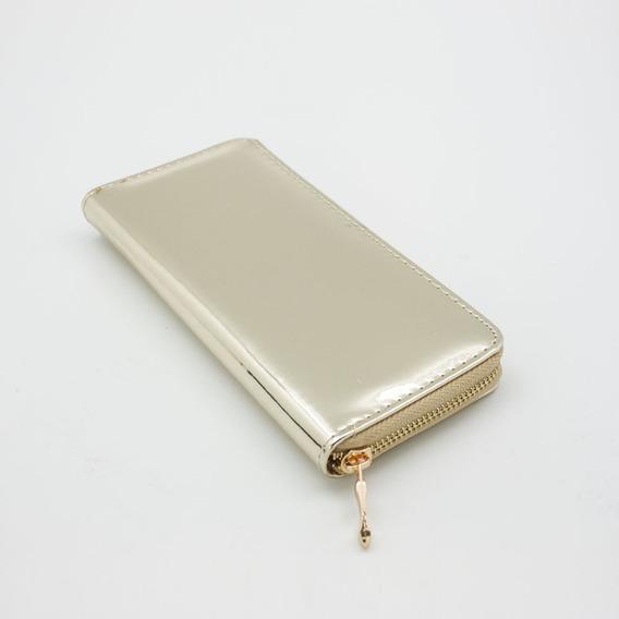 Billetera Metálica Gold Accesorios Morph