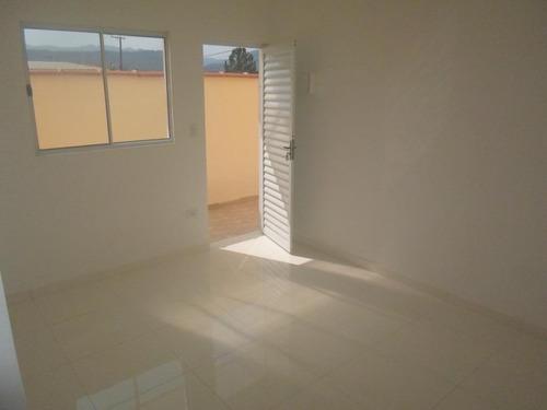 Casa Em Balneário Esmeralda, Praia Grande/sp De 50m² 2 Quartos À Venda Por R$ 230.000,00 - Ca691188