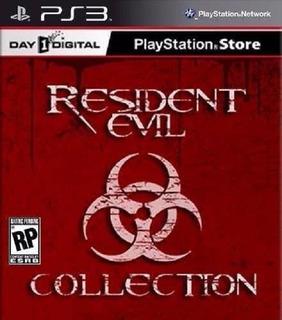Resident Evil Super Pack 10 Juegos Ps3 Digital Tenelo Hoy!!