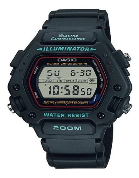 Relógio Casio Masculino Digital Casual Preto Dw2901vsu