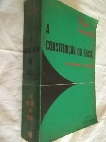 * Livro - A Constituição Do Brasil - Paulo Sarasate
