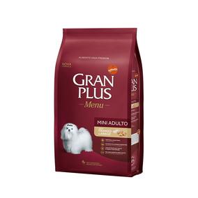Ração Gran Plus Raças Pequenas Sabor Frango E Arroz - 3kg