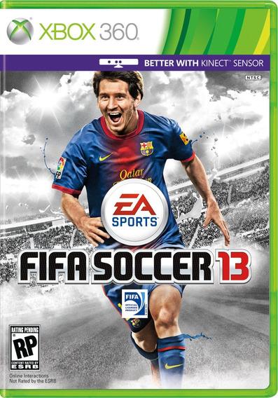 Jogo Xbox 360 Fifa 13 (mídia Física)