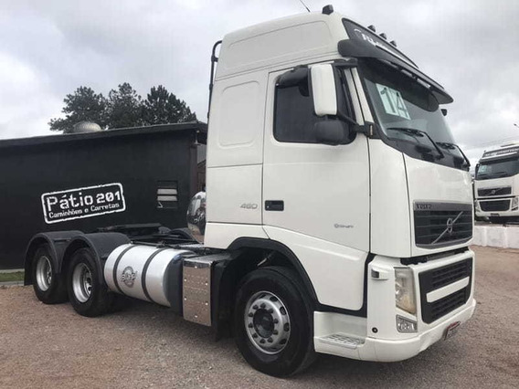 Volvo Fh 460 6x4 2014 Ishift Fh460 Canelinha Plano Ouro