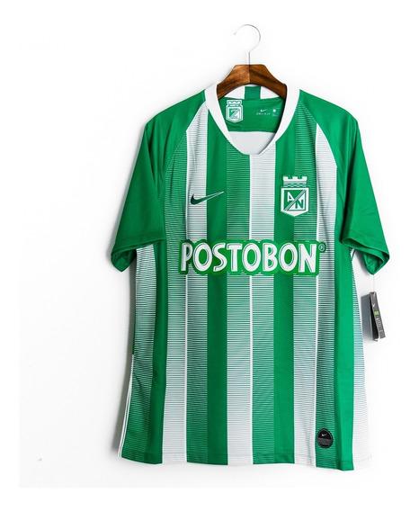 Camisa De Futebol Masculino Atlético Nacional 18/19 Nike