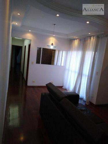 Imagem 1 de 14 de Apartamento Com 2 Dormitórios À Venda, 90 M² Por R$ 424.000,00 - Centro - São Bernardo Do Campo/sp - Ap2260