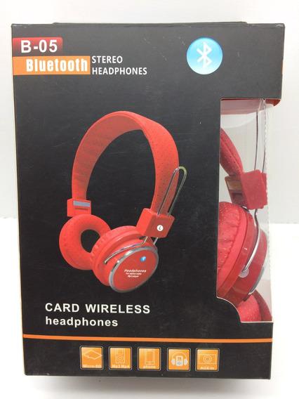 Fone Ouvido Headphone Stereo Bluetooth Wirelles Academia