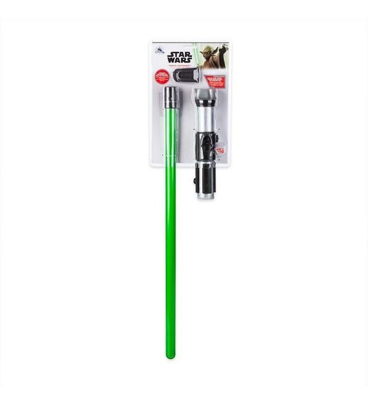 Star Wars Yoda Sable De Luz Disney Store Nuevo Importado