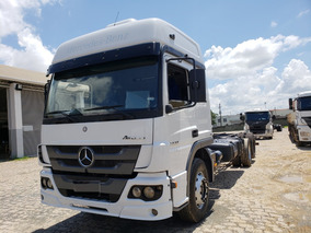 Mercedes-benz Atego 2430 6x2 Chassi 2015 Financiamos