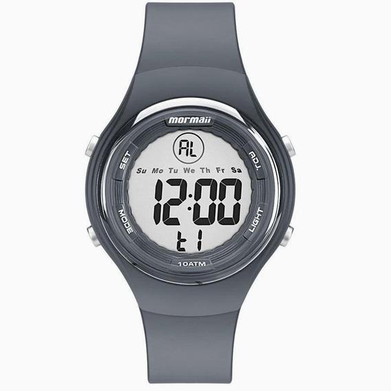 Relógio Masculino Digital Cinza Escuro Prova D