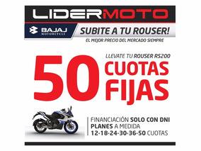 Bajaj Rouser 200 Rs Lidermoto La Plata