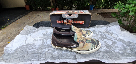 Vans Iron Maiden The Trooper Talle 41 Usado