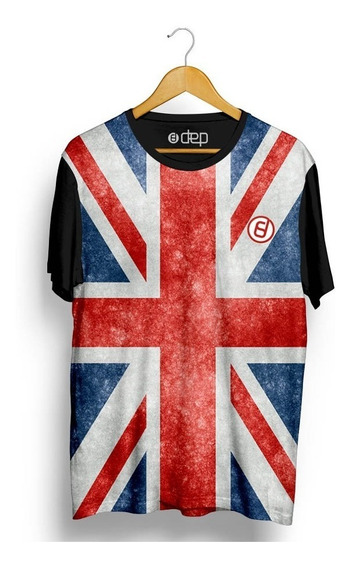 Camiseta Dep Bandeira Inglaterra Azul / Vermelha