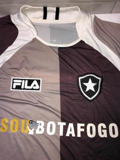 Camisa Do Botafogo Fila Preta E Cinza Soubotafogo 9