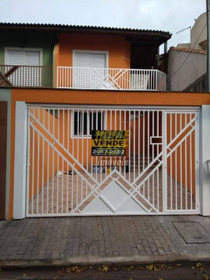 Sobrado Residencial À Venda, Jardim Santa Clara, Guarulhos. - So0392
