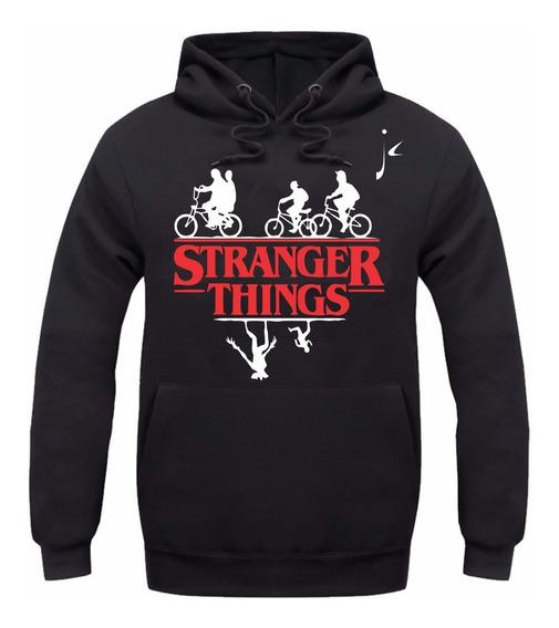 Moletom Stranger Things Serie Nova Moleton Blusa De Frio Jc