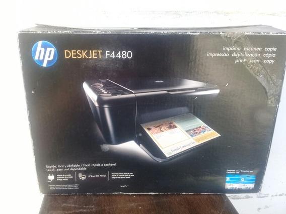 Impresora Multifuncional Hp F4480 (cartuchos Secos)