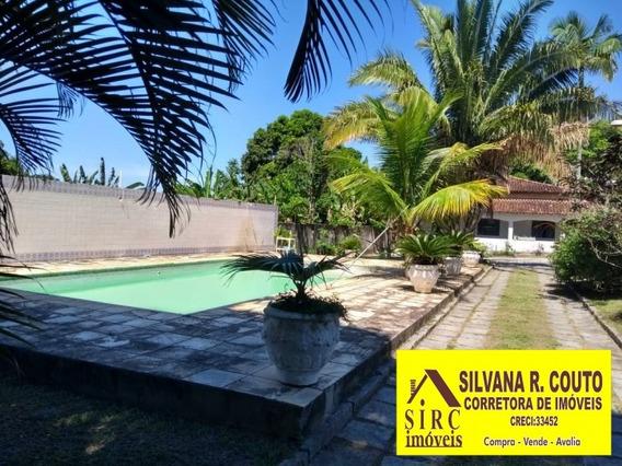 Itaipuaçu- Sítio 13.470 - Casa Sede 4 Quartos R$ 580 Mil - 198