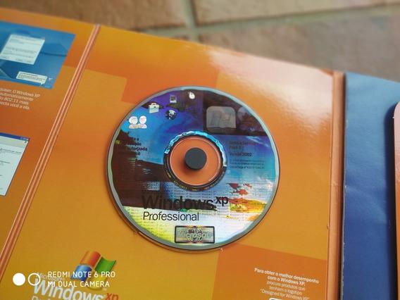Windows Xp Professional Brazilian Cd W/sp2 2002 (raridade)