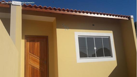 Casa Para Venda Em Tatuí, Jardim Santa Rita De Cássia, 2 Dormitórios, 1 Banheiro, 1 Vaga - 458