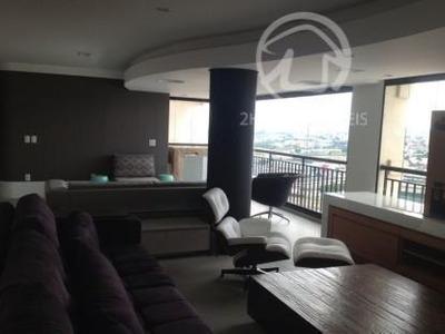 Cobertura Penthouse Com 263 M², Linda, Nunca Foi Alugada E Habitada, Imóvel Novo. - Co0730