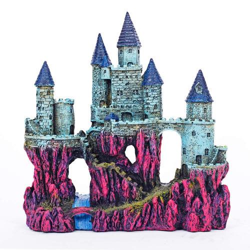 Castillo De Decoracion Para Acuario 10.0 In
