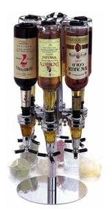 Dispenser Giratorio 6 Botellas Bebidas Bar Barra Tragos