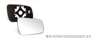 Lente Espelho Retrovisor Direito Vw Gol G4, Parati G4, Saveiro G4 Após 2006 - 7008