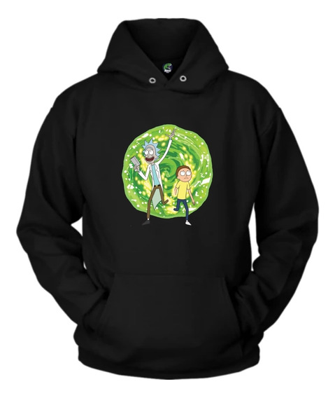 Sudadera Rick And Morty Portal