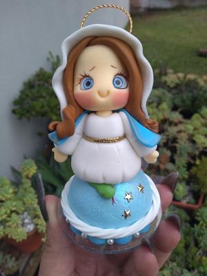 Nossa Senhora Em Biscuit