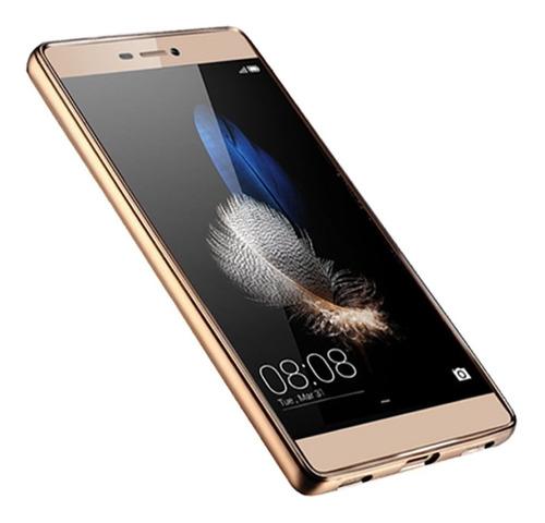 Protector Funda Slim Tpu Borde Color Para Huawei P8 Lite