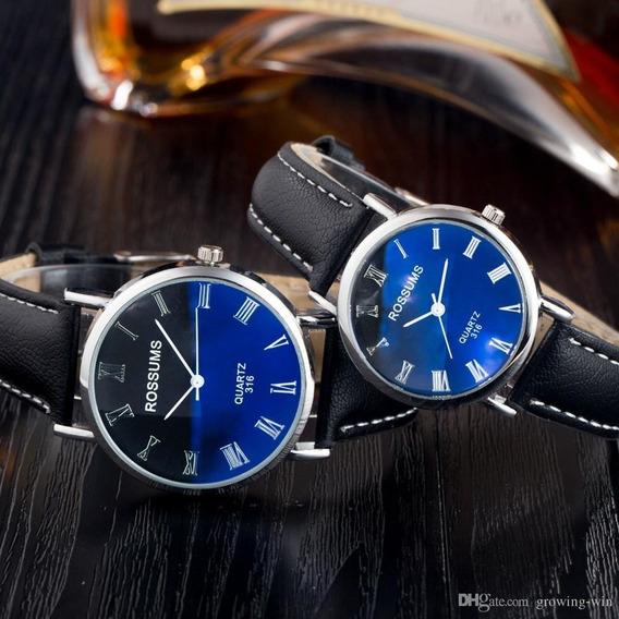 Relojes Para Pareja Duo Para Hombre Y Mujer 2x1 Nuevo Casual
