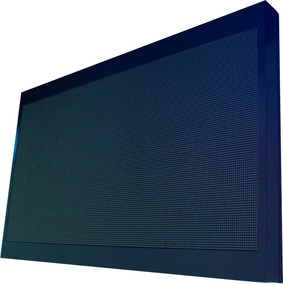 Painel De Led P10 De 200cm X 120cm Full Color, Suporta Vídeo