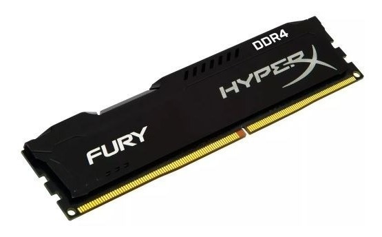 Memória Kingston Hyperx Fury 4gb 2400mhz Ddr4 Cl15