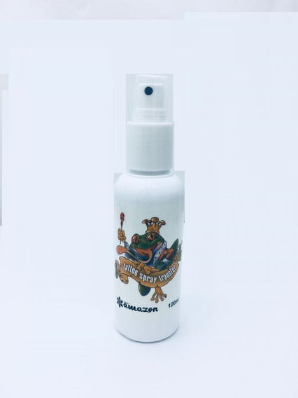 Transfer Tatuagem Tattoo Amazon Spray 120ml Para Decalque