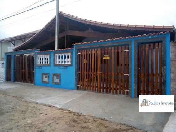 Casa Com 2 Dorms, Jardim Praia Grande, Mongaguá - R$ 175 Mil, Cod: 849400 - V849400