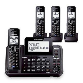 Panasonic Kx-tg9542b Dect 6.0 De 2 Líneas De Teléfono Ina