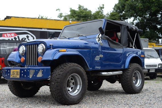 Jeep Cj 7 Tipo Campero Modelo 80