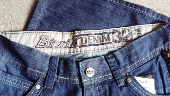 Calça Azul Jeans Bivik 52681 Pronta Entrega | Frete Grátis