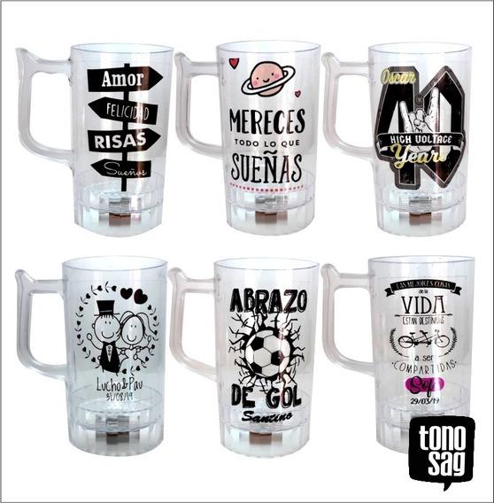 Souvenirs Shop Cervecero Con Luz Led Personalizado