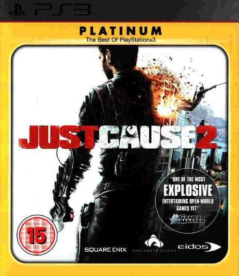 Jogo Just Cause 2 Playstation 3 Ps3 Platinum Mídia Física