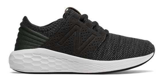 Tenis New Balance Fresh Foam Knit Negro Correr Gym