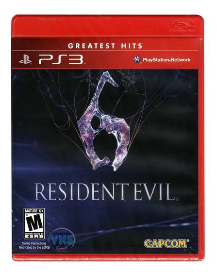 Resident Evil 6 - Ps3 - Mídia Física - Lacrado