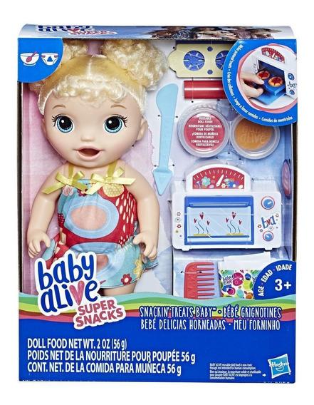 Muñeca Baby Alive Bebé Delicias Horneadas Hasbro Original Tv