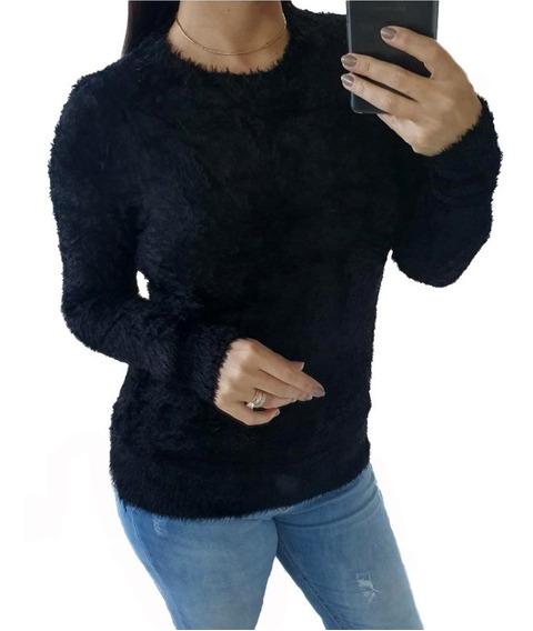 Blusa Atacado Felpuda Pelo Sintético Estação Fashion
