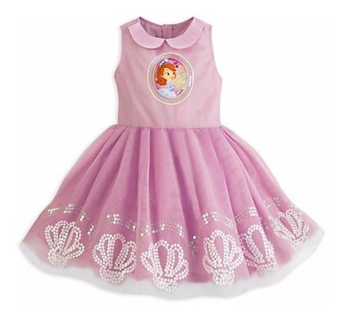 Vestido Princesa Sofia Social Festa Luxo Disney Store 5/6