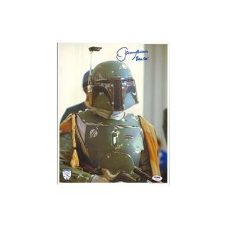 Jeremy Bulloch Firmado Star Wars Boba Fett 11x14 Foto Psa /
