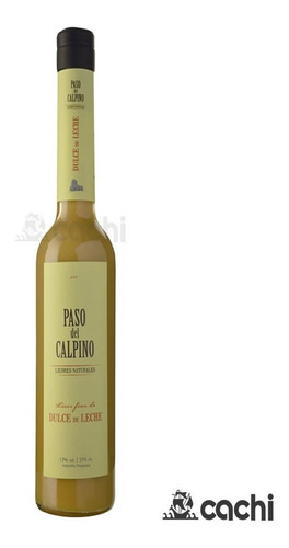 Licor Artesanal Paso Del Calpino Dulce De Leche