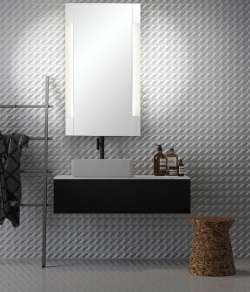 Espejo Baño Maki 60x80 Luz Led Frontal Reflejar Envio Gratis