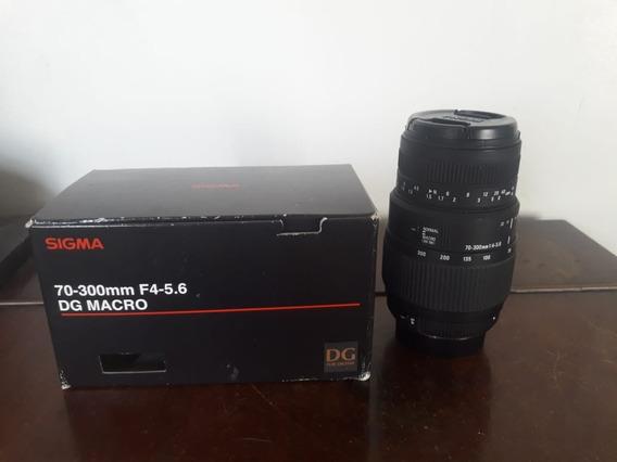 Lente Sigma 70-300 F4-5.6 Dg Macro